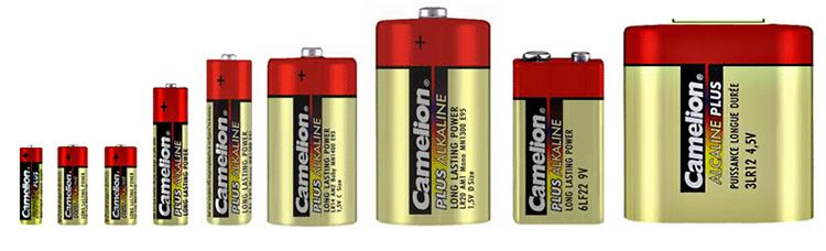 Огромный выбор батареек