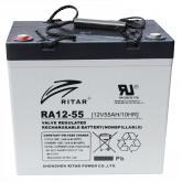 Аккумулятор Ritar 12V 55Ah